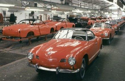 Fast 450.000 Einheiten der schicken Käfer-Abkömmlinge entstanden bei Karmann in Osnabrück und in Brasilien.