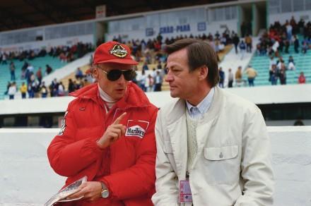 Niki Lauda und Hans Mezger