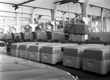 A_0211 Transporter Produktion Wolfsburg 1950