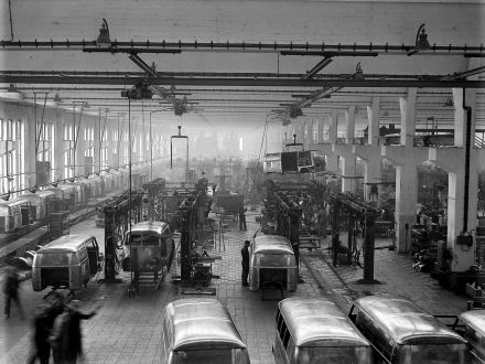A_0494 Transporter Produktion Wolfsburg 1950