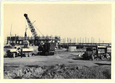 Baustellenfoto werk Sto_cken 1955