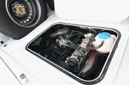 Der Reihenmotor stellt im Vergleich zum Boxermotor 25 Prozent mehr Kraft zur Verfügung.