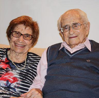 Seit 67 Jahrenb verheiratet. Felix und Netty Burian leben in Tel Aviv.